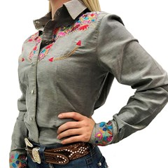 Camisete Miss Country Flowers 341