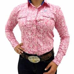 Camisete Miss Country Rosa/Branco 295