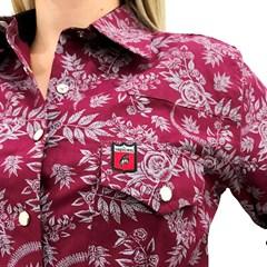 Camisete Os Vaqueiros Floral 8009-02