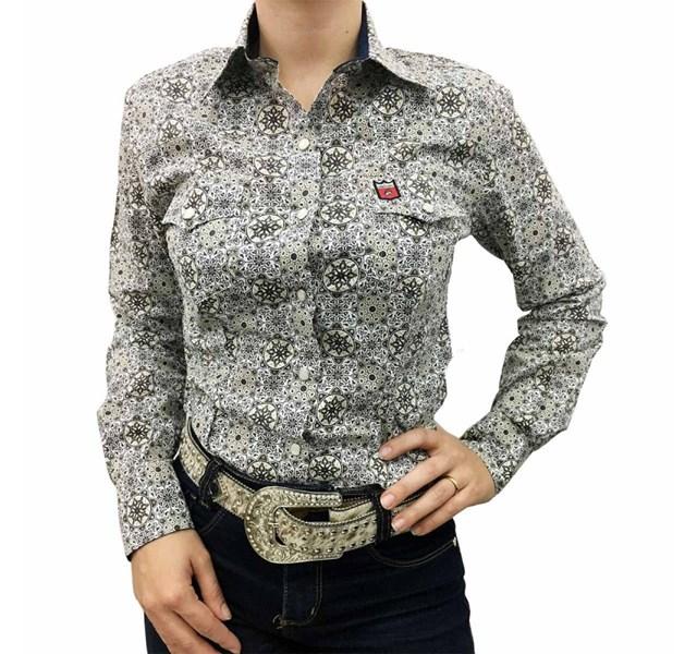 Camisete Os Vaqueiros Floral 8009 - Crisecia d2568682671
