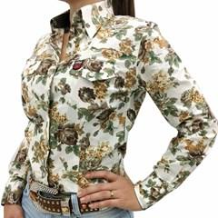 Camisete Os Vaqueiros Floral 8009-NEW