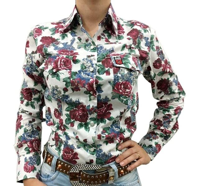 Camisete Os Vaqueiros Floral 8009-NEW - Crisecia 94c361a4ef1