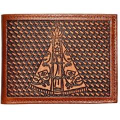 Carteira Pyramid Entalhada/Nossa Senhora Aparecida 27958