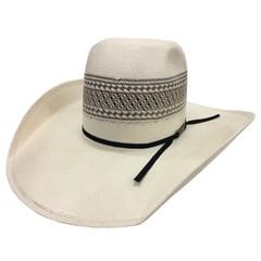 Chapéu American Hat Natural/ Rendado Cinza 4100