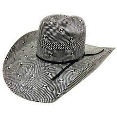 Chapéu American Hat Preto/Branco 7600