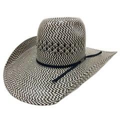 Chapéu American Hat Preto/Branco/Cinza 5535
