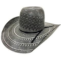 Chapéu American Hat Preto e Branco 6210
