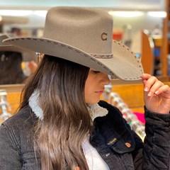 Chapéu Charlie 1 Horse Importado 4x Bucksnort