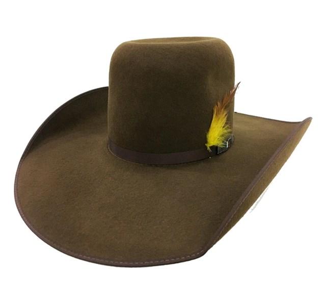 Chapéu Mexican Hats Monterrey Café com viés 412 - Crisecia 8171841ab4f