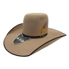 Chapéu Mexican Hats Monterrey Camel com viés - 412