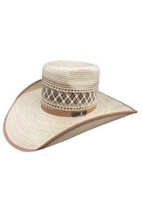 Chapeu Mexican Hats Puebla 20X Palha Bicolor