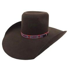 Chapeu Mexican Hats Reynosa 10X Marrom
