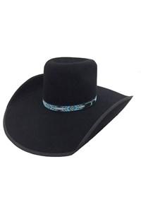 Chapéu Mexican Hats Reynosa Preto com Viés MH2000