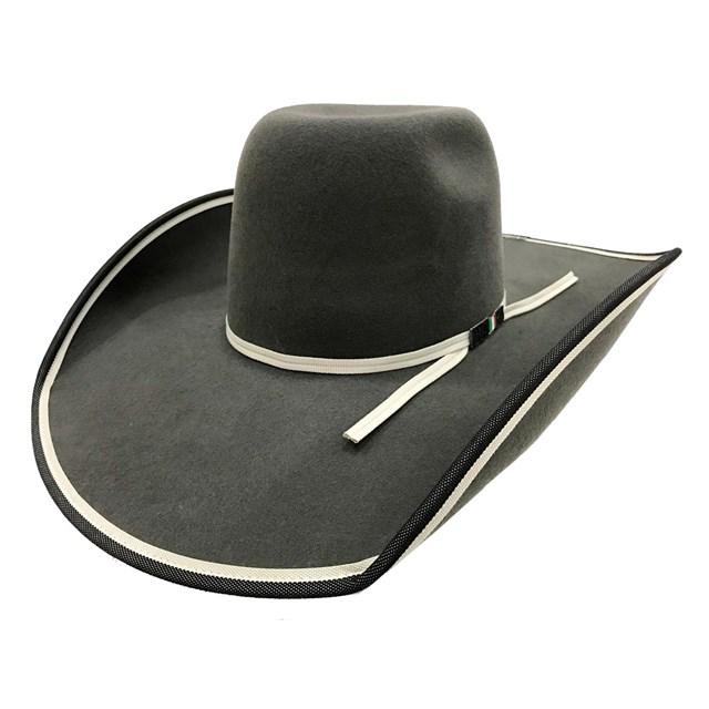 Chapéu Mexican Hats Sanluis Cinza Viés Duplo 447