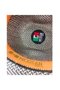 Chapéu Mexican Hats Sanluis Marrom/Branco 867