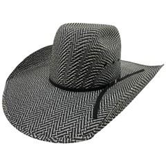 Chapéu Mexican Hats Sanluis Preto/Branco 867