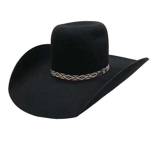 Chapéu Mexican Hats Tijuana I 413 Preto Banda Navajo