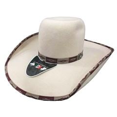 Chapéu Mexican Hats Tijuana II Areia Com Viés 414