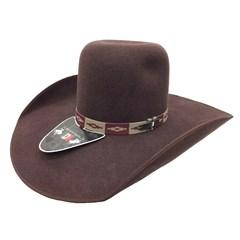Chapéu Mexican Hats Tijuana II Marrom com viés 414