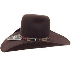 4848a0261c8d1 ... Chapéu Mexican Hats Tijuana II Marrom com viés 414