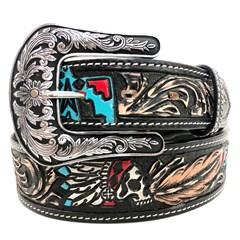 Cinto Arizona Belts Entalhado 7139