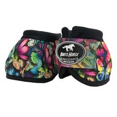 Cloche Boots Horse Ventrix Estampa Borboleta BH-06