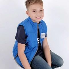 Colete TXC Infantil Azul Royal 1501I