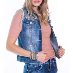 Colete Zenz Western Jeans ZW0447
