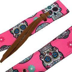 Conjunto Boots Horse Latego e Contra Latego Nylon Pink/Estampado 2617 BH-72