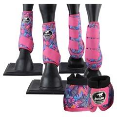 Conjunto Completo Ventrix Boots Horse BH5292 Caneleira/Cloche/Skid Boots