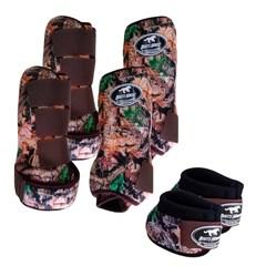 Conjunto Completo Ventrix Boots Horse BH5303 Caneleira/Cloche/Skid Boots