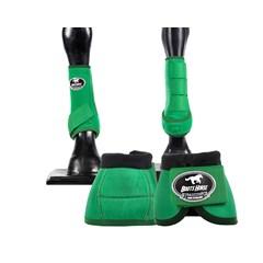 Conjunto  Ventrix Boots Horse BH-01 Verde - Caneleira/Cloche