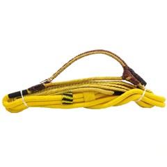 Corda Americana p/ Montaria Mista Direita Amarelo - Fábio Ribeiro