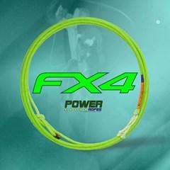 Corda Power Ropes Fx4 4 Tentos Para Laço Em Dupla
