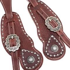 Correia de Espora Boots Horse Marrom Avermelhado 7040