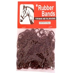 Elástico Importado para Tranças em Crina e Rabo-Rubber Bands 245913