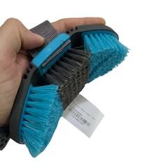 Escova Flexível Lami-Cell p/ Cavalo c/ Cerdas de Nylon BE13170