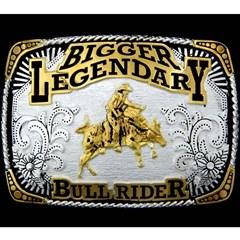 Fivela Master Bigger Legendary Bull Rider 578
