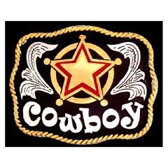 Fivela Master Infantil Cowboy - 554