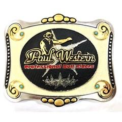 Fivela Paul Western Profissional Bull Riders PW