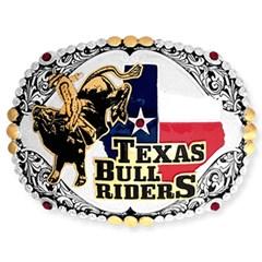 Fivela Sumetal Texas Bull Rider 6460