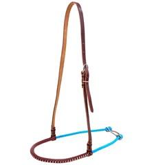 Gamarra Top Equine para Cavalo Couro/Corda Fina Azul 13247