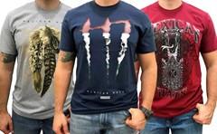 Kit com 3 Camisetas Mexican Shirts