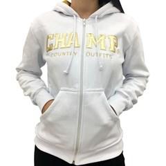 Moletom Champ Branco/Dourado CHP-MF