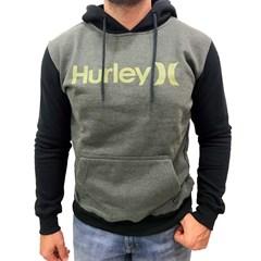 Moletom Hurley Verde Oliva/Preto 636636A