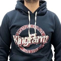 Moletom King Farm Azul Marinho KFM28