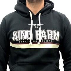 Moletom King Farm Preto KFM01