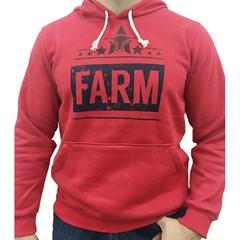 Moletom King Farm Vermelho KFM41