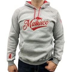 Moletom Marruco Cinza Mescla M0004