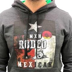 Moletom Mexican Hats Chumbo Rodeo Star